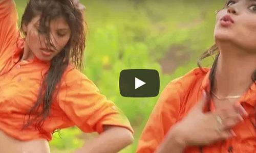 खेसारी यादव- काजल राघवानी के गाने पर झूम कर नाची ये हसीना, मूव्स देखकर आप भी हो जायेंगे फ़िदा!